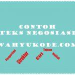 √ 5+ Contoh Teks Negosiasi yang Baik dan Benar Sesuai Struktur