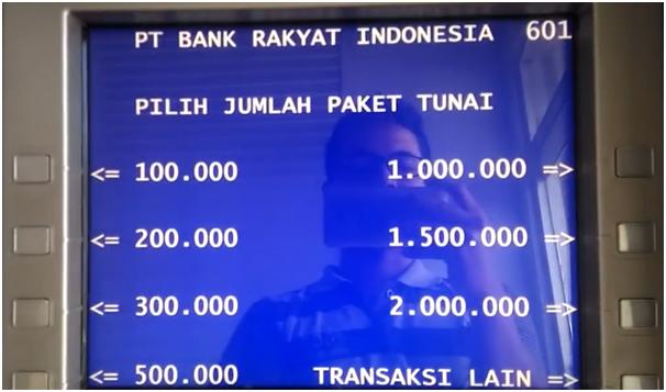 Klik Transaksi Lain untuk Cara Transfer Uang dari Bank BRI ke Bank BCA berikutnya