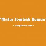 √ Bahasa Jawa Terima Kasih Banyak, Kembali, Bahasa Jawa Halus