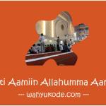 Arti Aamiin Allahumma Aamiin Singkat dan Jelas | Doa & Tulisan Arab