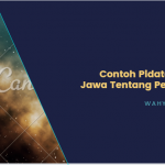 √ Contoh Pidato Bahasa Jawa Tentang Pendidikan Singkat Mudah Dihafal