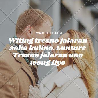 Gambar Kata Bijak Bahasa Jawa Tentang Cinta