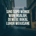 Quotes Bahasa Jawa Archives Wahyukode