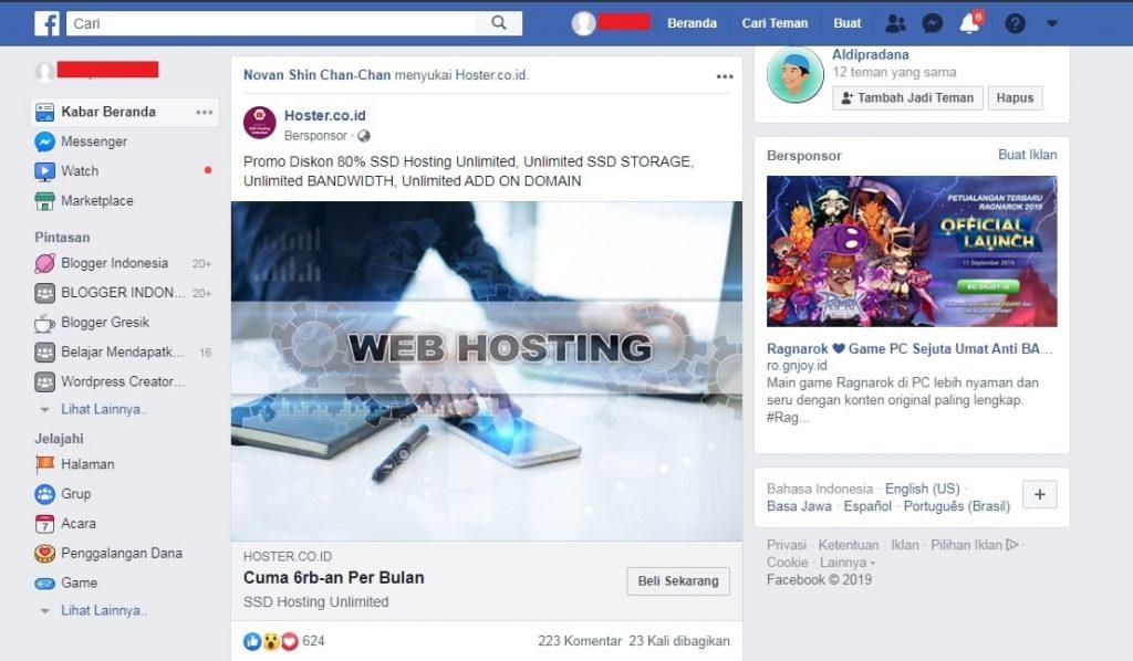 Promo Hoster.co.id Hosting SSD Unlimited Termurah & Fitur Terbaik