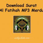 √ Download Surat Al Fatihah MP3 Gratis Paling Merdu HD