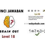 √ Kunci Jawaban Brain Out Level 18 Buat Persamaan dengan Benar