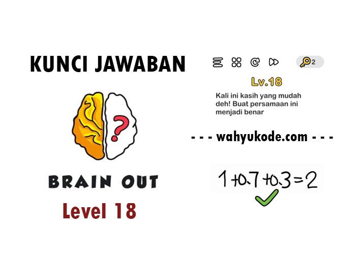 Kunci Jawaban Brain Out Level 18