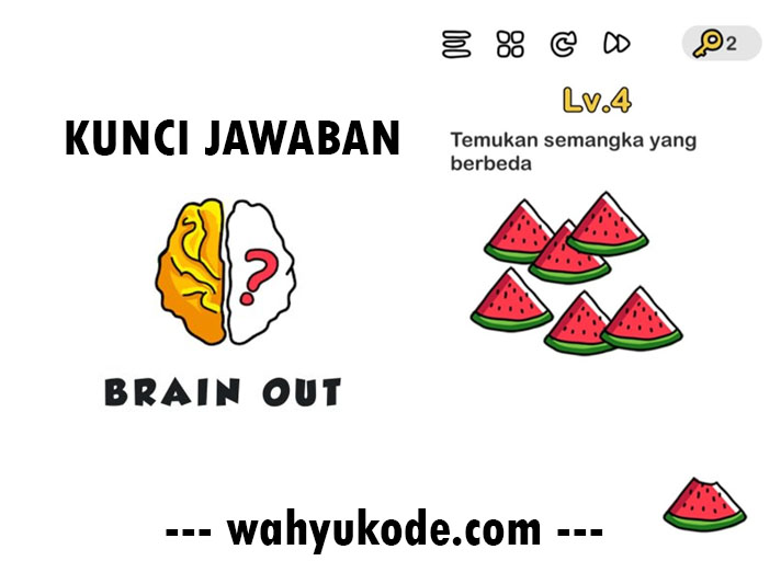 Kunci Jawaban Brain Out Level 4